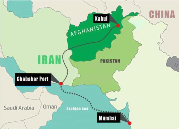 India's First Split Pea Consignment arrives in Kabul through Chabahar Port