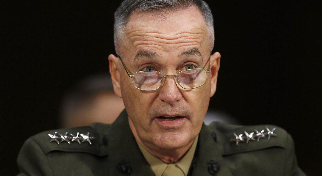 US Joint Chief of Staffs Believes Taliban are Not Losing