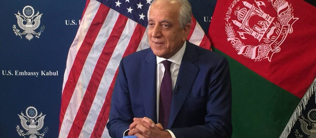 Cautiously Optimistic and Hopeful, Khalilzad Seeks Peace Deal Before Presidential Elections