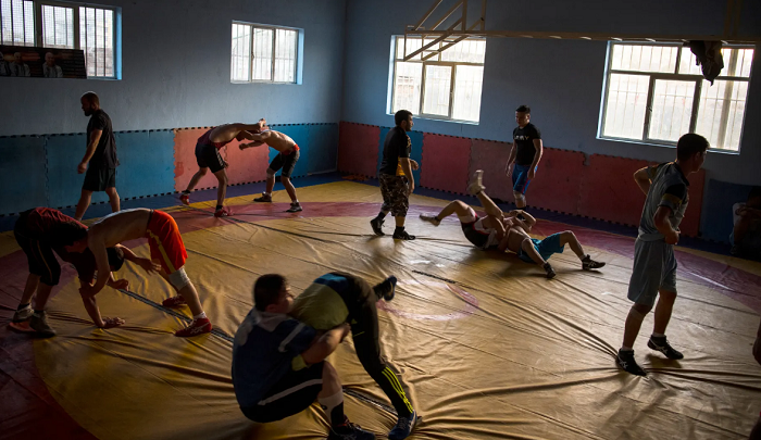 """The Reopening of the Maiwand Wrestling  Club: """"The Glass only gets sharper after being broken"""""""