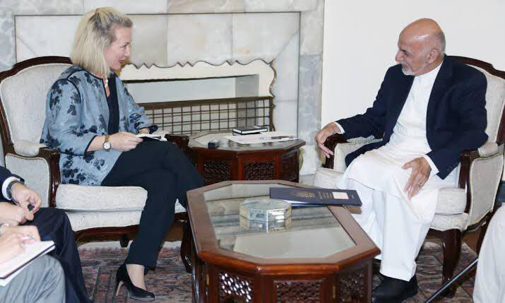 Principal Deputy Assistant Secretary Alice Wells Visits Kabul, Says US is Committed to Support Afghanistan