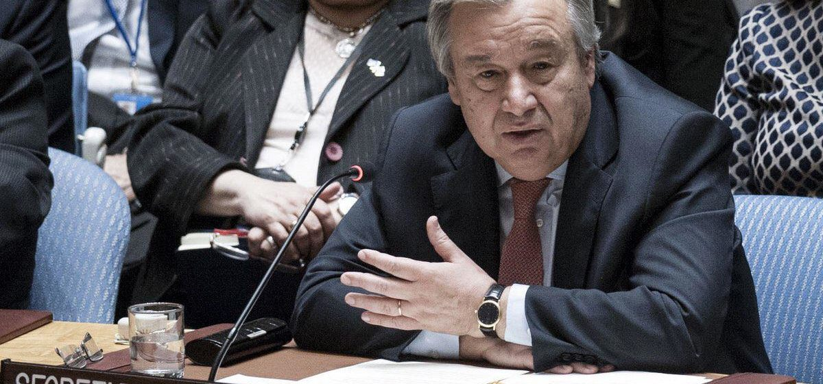 UN Secretary General Tells IEC & IECC to Learn from Past Mistakes and Manage Presidential Elections Better