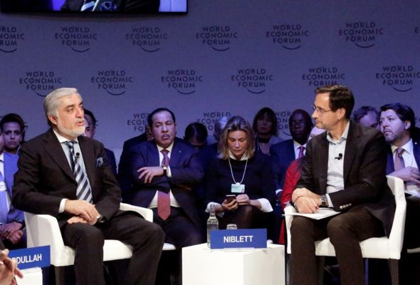 """CE Abdullah at WEF: """"Balance of Power"""" politics can be a grave threat to peace and reconciliation"""