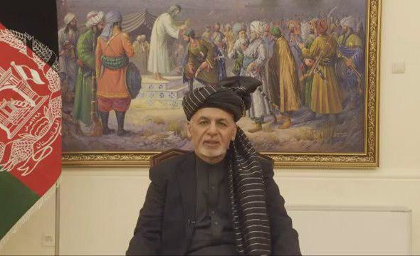 Choose to Either Stand with Afghan People or Be Used as Tool by Other Countries: President Ghani to Taliban