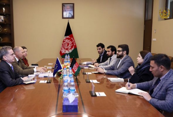 NSA Mohib establishes Working Group to facilitate EU support for Afghan-led & owned peace