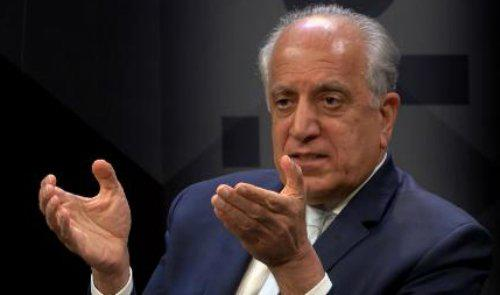 Khalilzad Tells Critics Don't Rush to Conclusions as Path to Peace isn't Straight