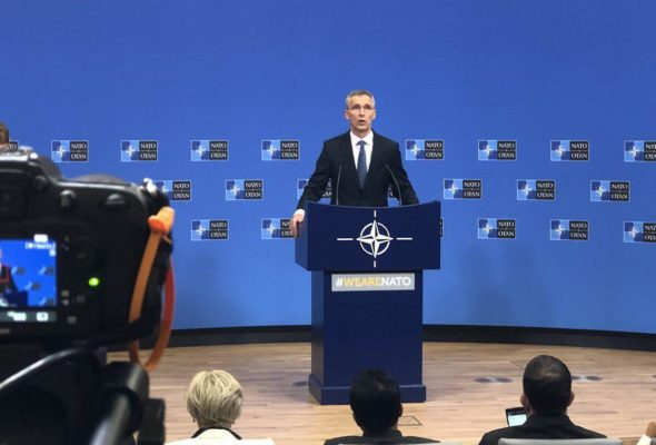 NATO Chief Stoltenberg: We Strongly Support Afghan Reconciliation