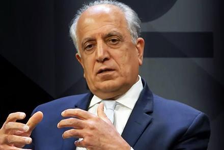 US Special Envoy Zalmay Khalilzad Reprimands Taliban's Spring Offensive Amid Peace Talks