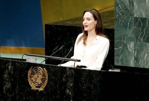 Angelina Jolie Emphasizes on Inclusion of Women in Afghan Peace Process