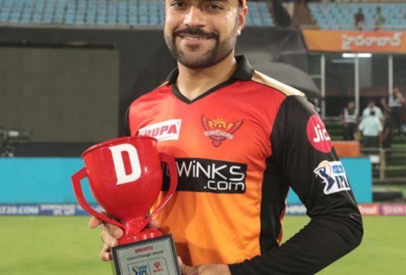 Afghan Leg-Spinner Rashid Khan Awarded Game Changer Award, His First In IPL19