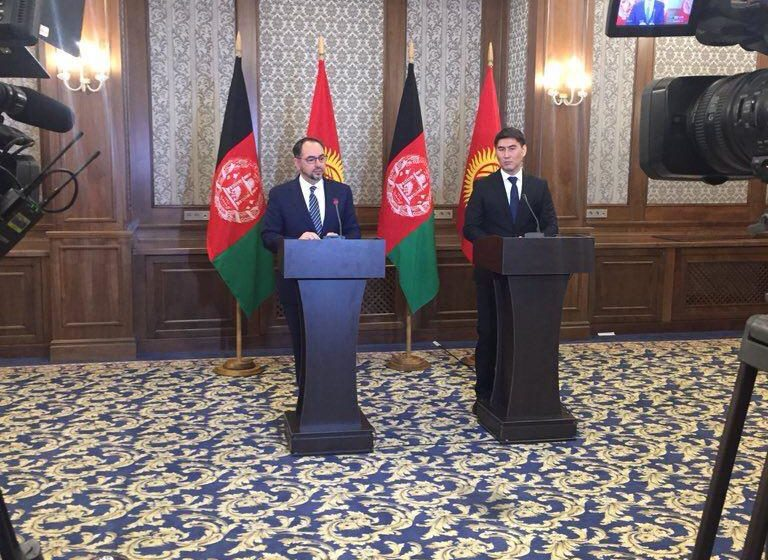 FM Rabbani Appreciates Kyrgyzstan's Role in Afghan Development Ahead of SCO Contact Group Meet