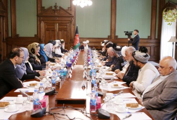 Leadership Council for Reconciliation Established, President Ghani Warns Against Appointment of Anti-Democracy Personalities