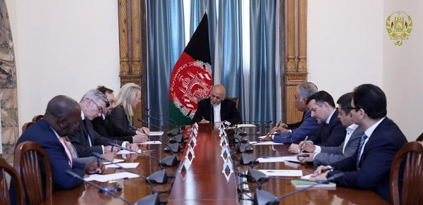 Alice Wells Reiterates US Support & Long-Term Presence in Afghanistan