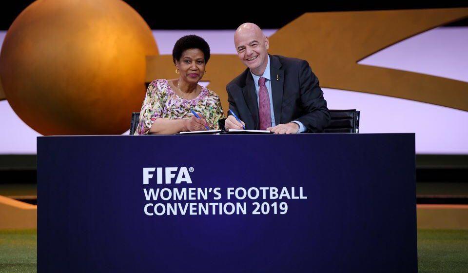 First Ever MoU Signed Between FIFA & UN Women