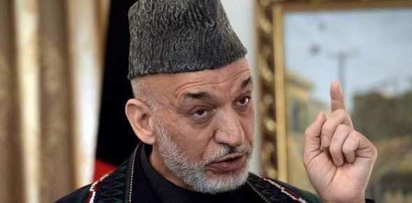 Former Prez Karzai: Pak and US Started the War, Must Cooperate to End it