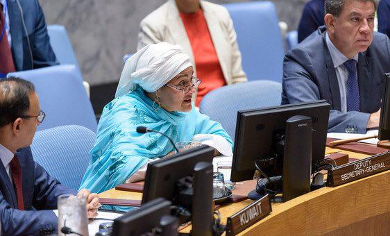 Deputy SG Mohammad at UNSC: Afghanistan Has Done More to Invest in Women Leadership