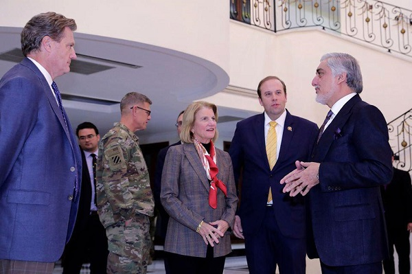 Abdullah's Meeting with US Congressional Delegation. Future of Democracy Depends on Presidential Election