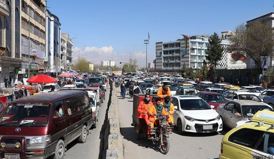 The First Day of Lockdown in Kabul: Does it Work?