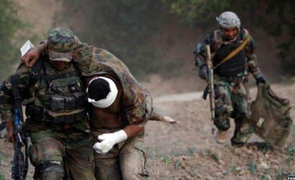 Nine Soldiers Killed in Taliban's Attack in Logar
