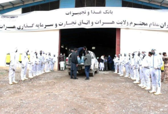 Charity in the Corona Age (1); the Food Bank in Herat, Big Start from Western Afghanistan