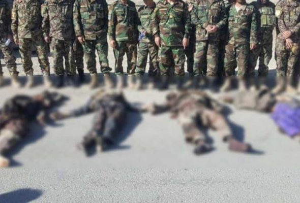 Security Forces Kill 6 Taliban Insurgents, Wound 2 Others in Zurmat District
