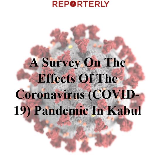 Exclusive: Majority of Kabul Citizens Worried About Contracting Coronavirus