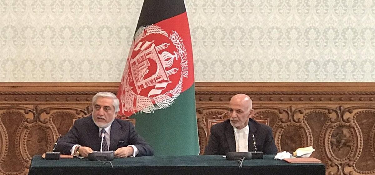 Ghani and Abdullah Signed Political Power-Sharing Agreement