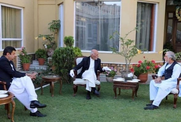 Eid Greetings Mark new Phase of Afghan Politics