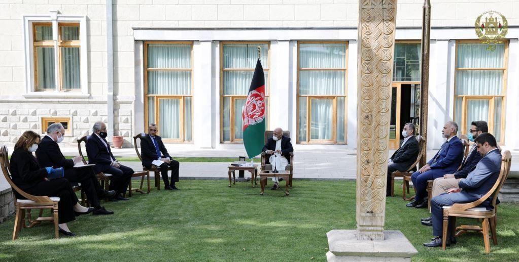 US Special Envoy Khalilzad Meets Taliban and Afghan President Ashraf Ghani