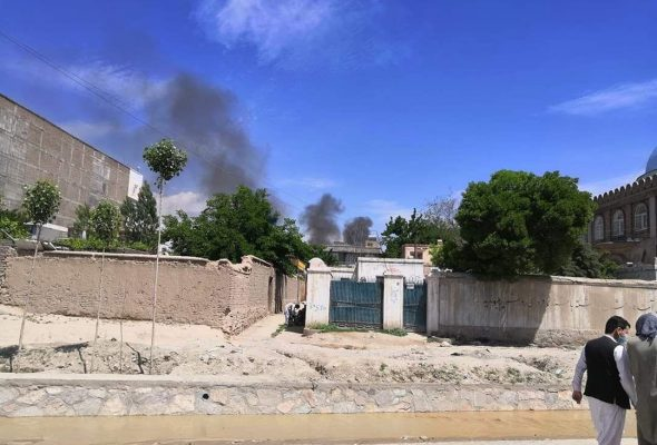 Developing: Hospital Comes Under Attack in Kabul