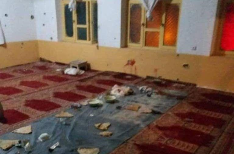 11 Worshipers Killed in Parwan, Khost Mosques Attacks