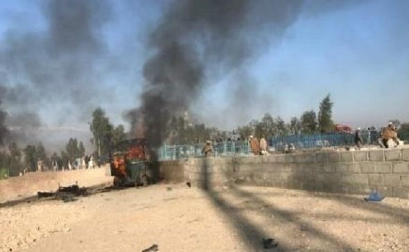 Suicide Attack on Funeral Ceremony of Afghan Local Police Commander Leaves 40 Killed, Wounded
