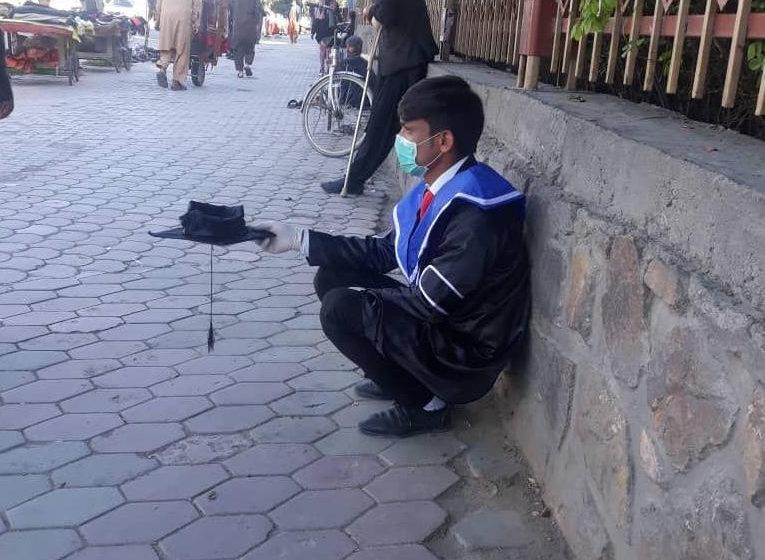 Protesting Through Begging; Ruhollah Naderi, Unemployed With Double Bachelor's Degree