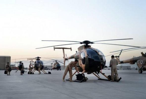 Raytheon Technologies to train Afghan Air Force pilots