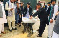 Charity In The Corona Age (15); Mina Nikzad And Mirwais Firoozi Donate Wedding Expenses To The Needy Kabulis