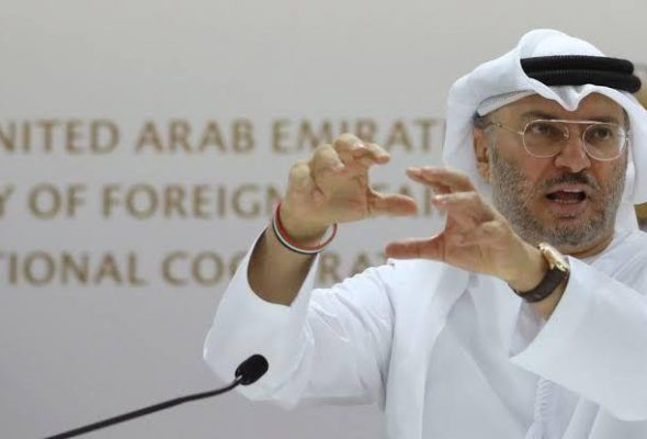 Terrorism Should End in Afghanistan for Peace Process to Work: UAE Minister