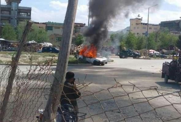 Explosion in Kabul Leaves Two Wounded