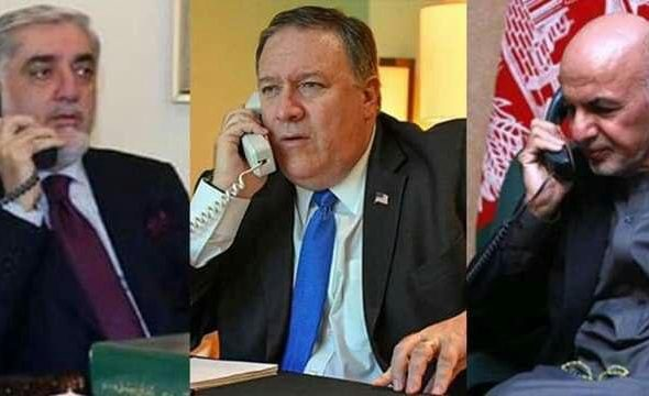 Pompeo Makes Calls to Ghani & Abdullah Regarding Power-Sharing Agreement