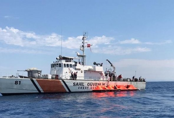 34 Afghans Among Asylum Seekers Rescued by Turkish Coast Guard
