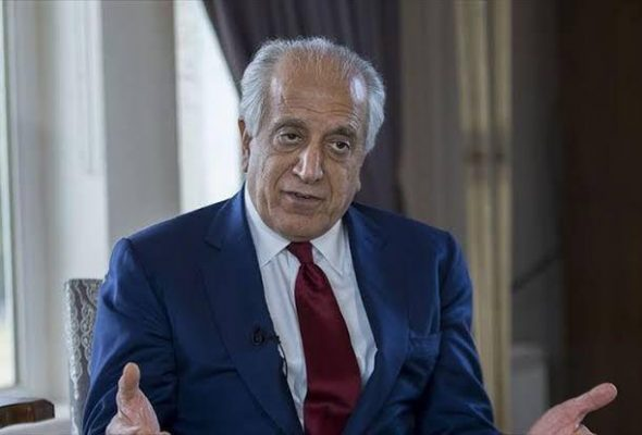 Attack on Lawyers Carried out by 'Enemies of Peace' Says Khalilzad