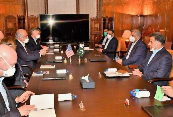 US Envoy Discusses Afghan Peace With Taliban, Pakistan