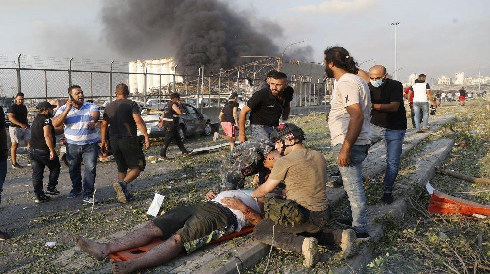 75 Killed And Thousands Injured As Massive Explosion Rips Through Beirut