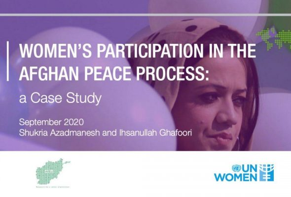 Women's Role In Afghan Peace Efforts Largely Symbolic: AREU