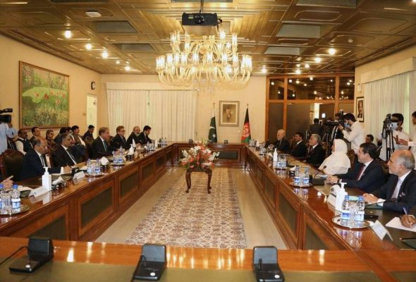 Abdullah Discusses Peace Process With Qureshi