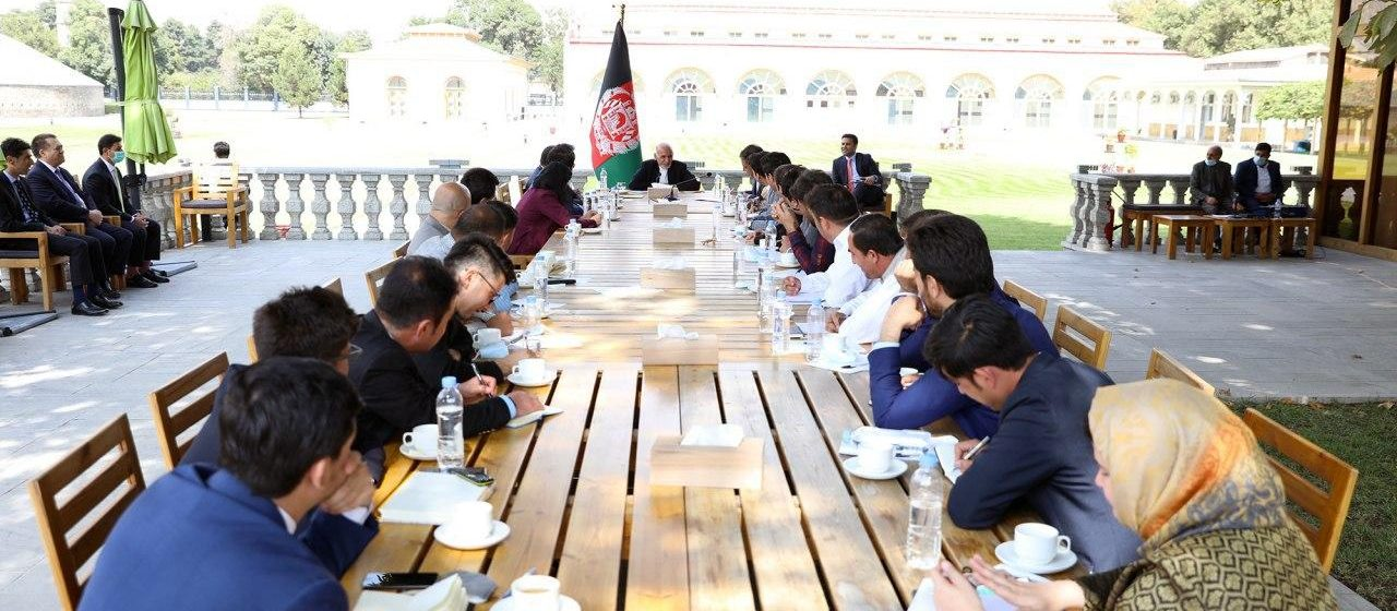 Ghani: World Must Realise Afghanistan Still Exposed To Threats From Taliban