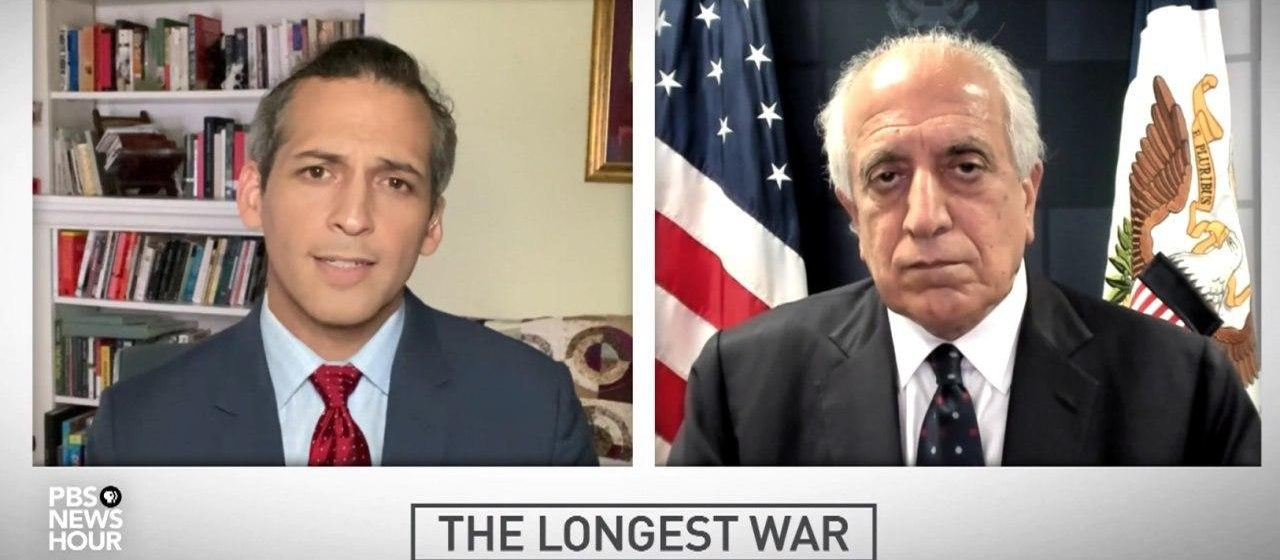 Khalilzad: Taliban Unlikely To Accept Ceasefire Until Political Settlement Reached