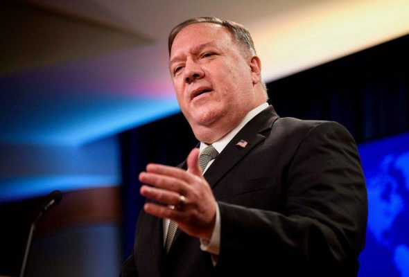 Taliban Commitments to U.S. Are Key to Withdrawal: Pompeo