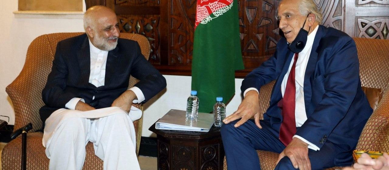Khalilzad Meets Members Of Both Delegations In Doha Amid Delays In Talks