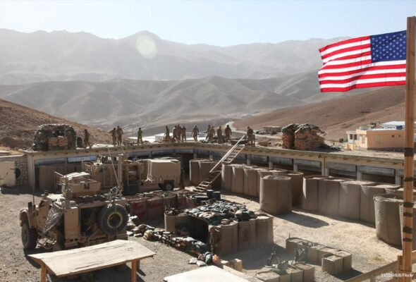 US Has Closed 10 Bases in Afghanistan: WP