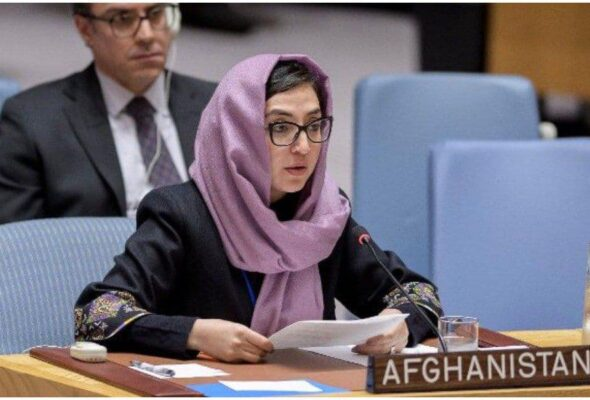 Afghans 'Want Their Dignity Back': Adela Raz